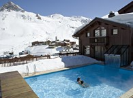 ACCESS TO SPA AND NORDIC SWIMMING POOL IN THE HOTEL