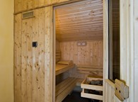 THE PRIVATE SAUNA IN EACH APARTMENT