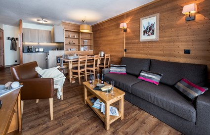 2 chambres + 1 cabine - 6 pers - 49 m²