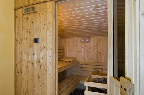 LE SAUNA PRIVATIF DE CHAQUE APPARTEMENT