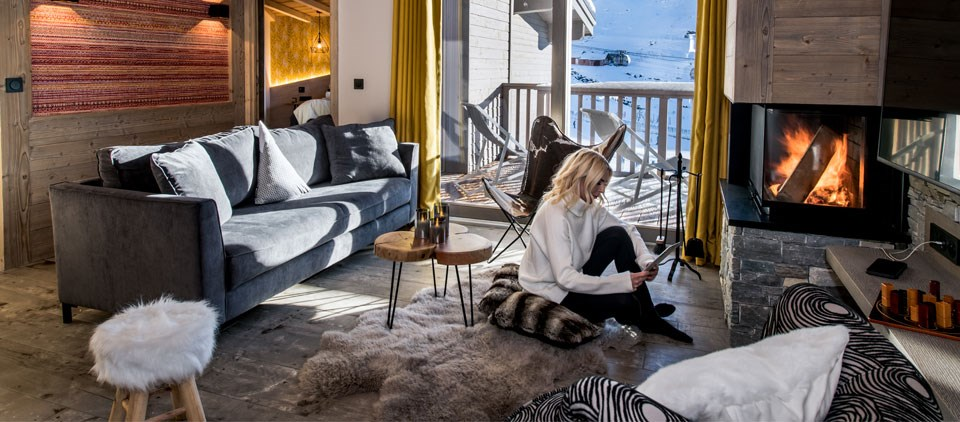 chalets 5 étoiles Val Thorens : chambres Résidence Montana Lodge