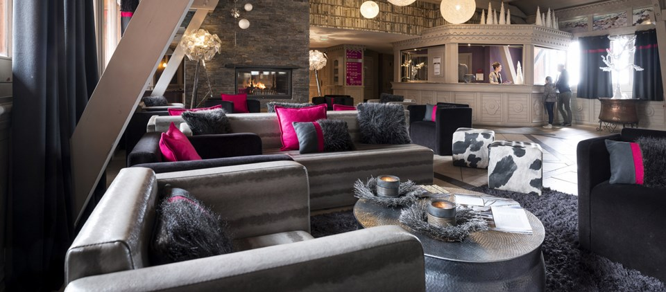 résidence ski luxe Valthorens