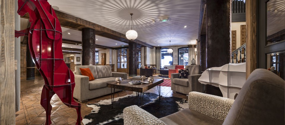Restaurant chic et traditionnel Tignes