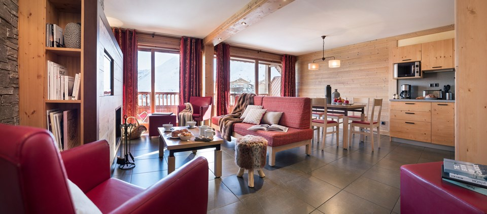 luxury serviced chalet tignes