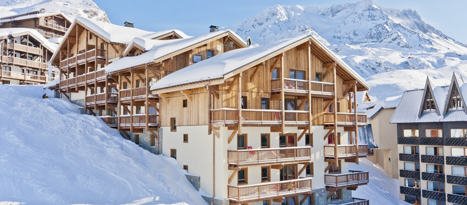 Amazing Residence With Swimming Pool Val Thorens. Family Ski Accommodation