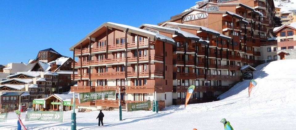 Serviced Ski Apartment Val Thorens