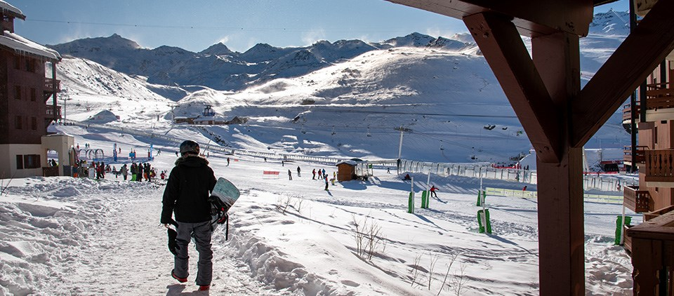 Location studio ski Val Thorens