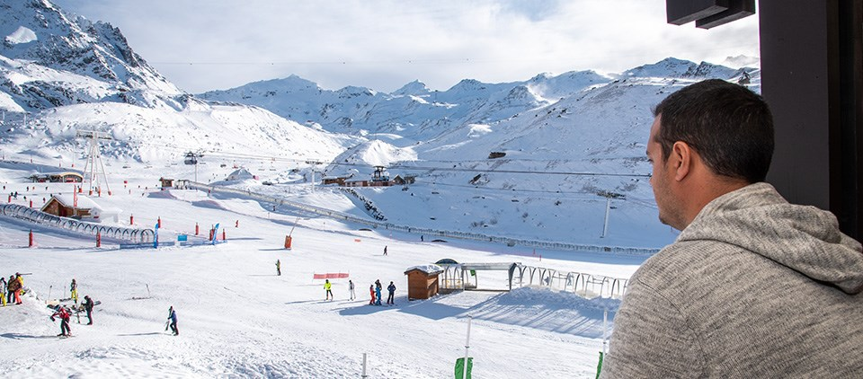 family ski apartment Val Thorens
